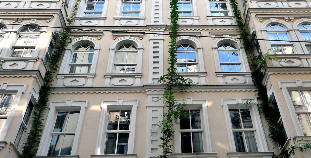 In un edificio storico protetto del XIX secolo