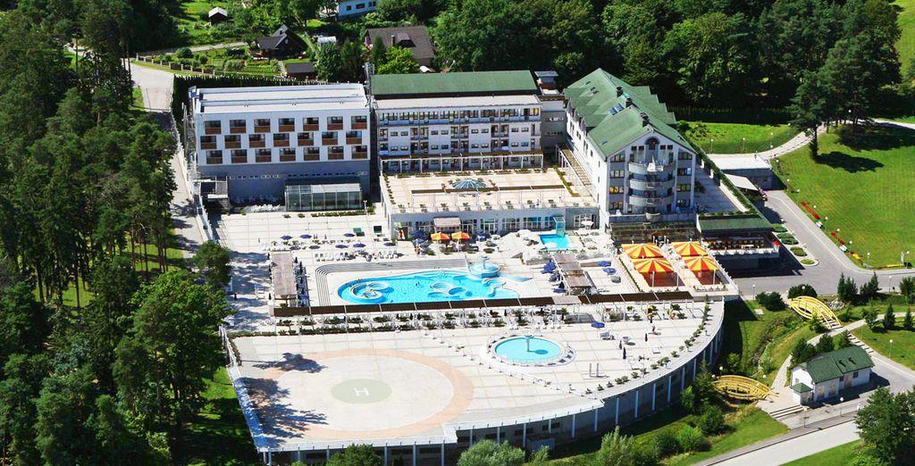 Partite per la Slovenia e alloggiate presso l'Hotel Habakuk Maribor 5*