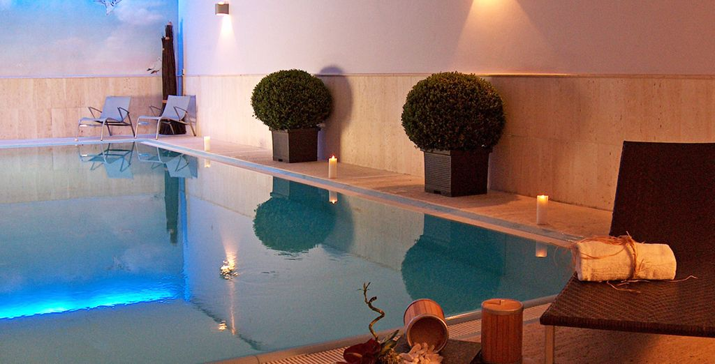 Prima di rilassarvi e trascorrere momenti di puro benessere presso la spa
