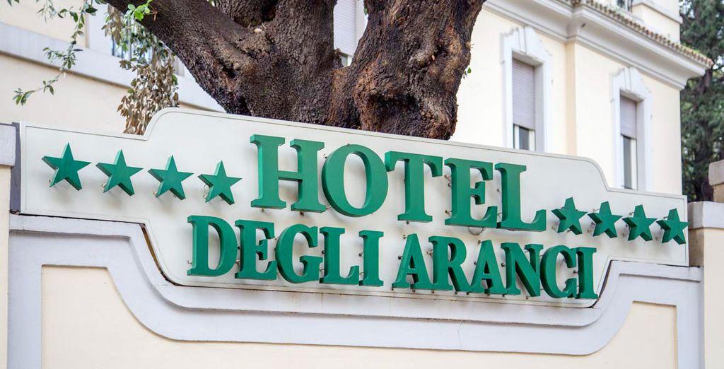 Il vostro hotel 4* a due passi dal centro
