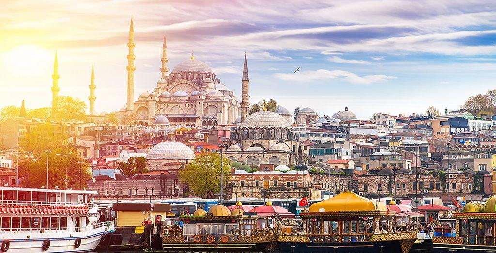 Partite alla scoperta di Istanbul