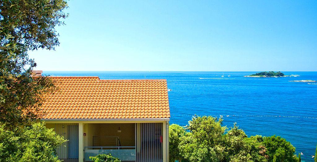 Sulle acque azzurre del Mar Adriatico