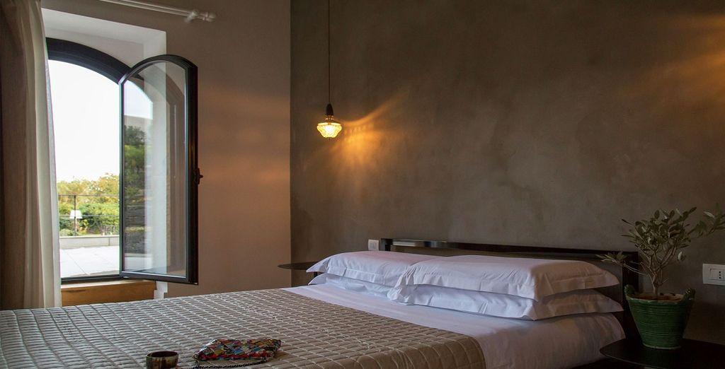 e potrete scegliere tra la Depandance e le camere vista Etna