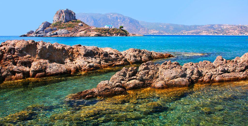 Partite per questa magnifica terra greca