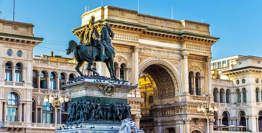 Milano è la classica grande città di cultura Europea
