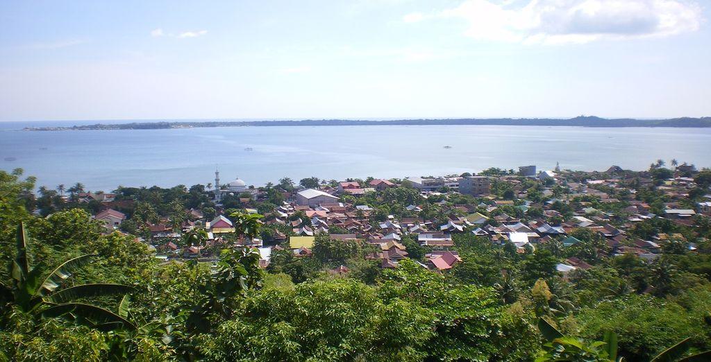 Godetevi il paesaggio di Sulawesi