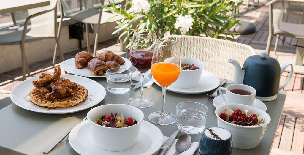 Cucina francese e colazione a Lione