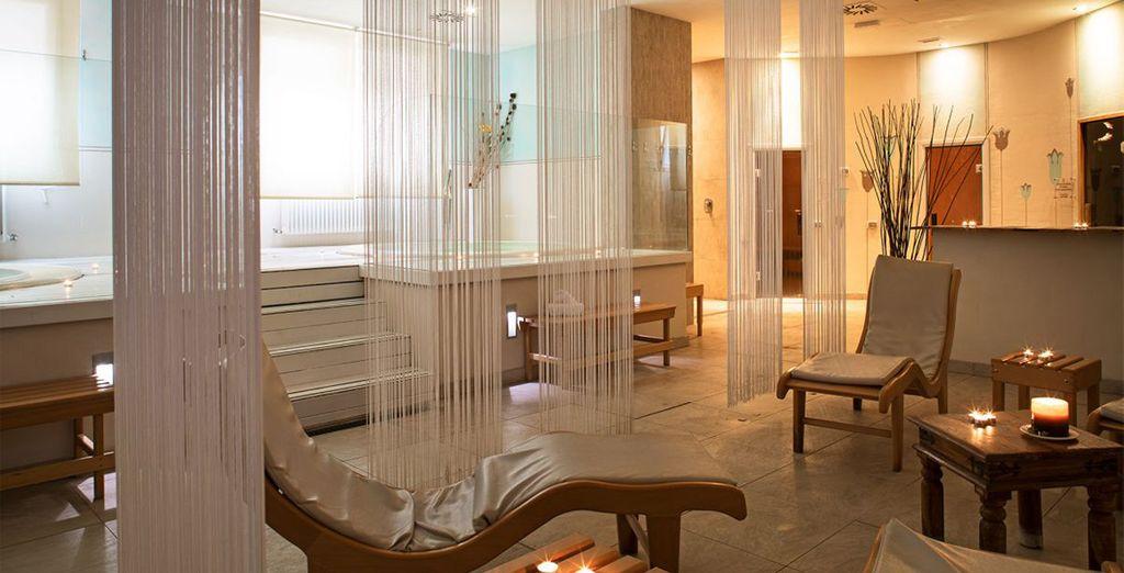Hotel di lusso in Toscana con area relax e spa.