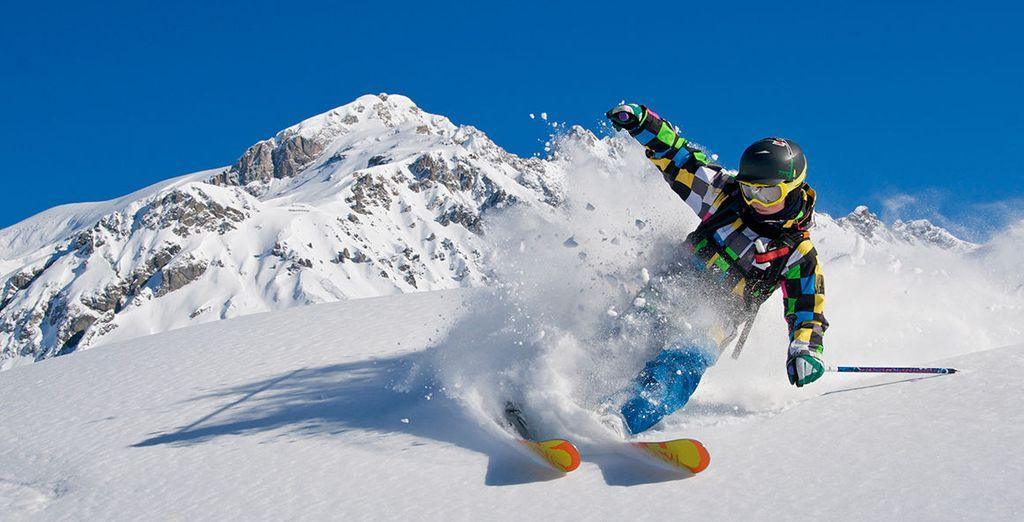 Senza dimenticare gli sport invernali