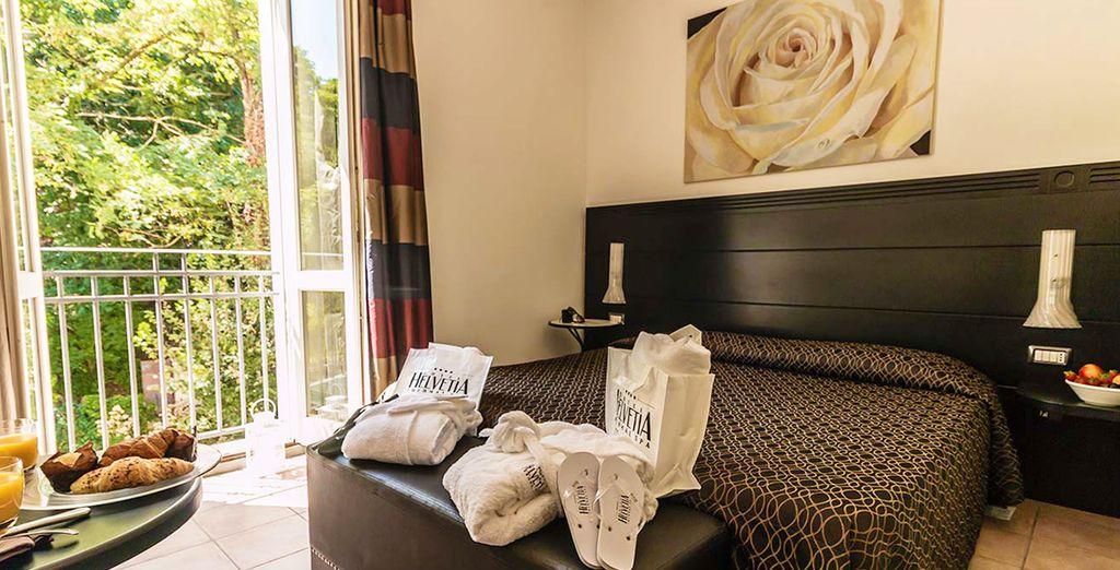 La vostra Camera Superior, elegante, luminosa e confortevole