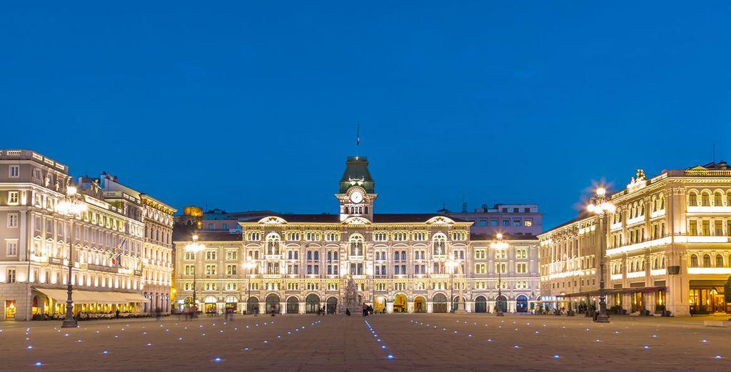 Soggiornate in una città affascinante come Trieste