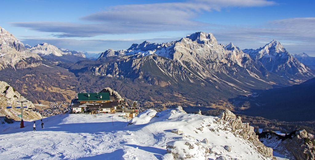 Si può correre giù per le piste da sci
