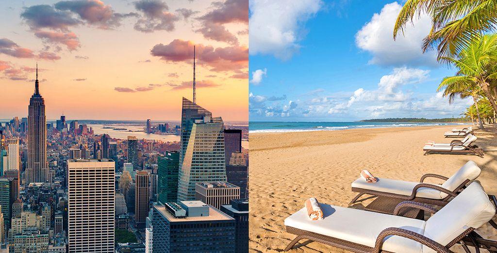 Partite per un soggiorno a 5* tra New York e Punta Cana
