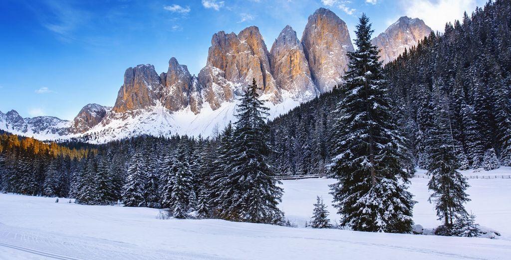 Scegliete la meta montana per antonomasia, Cortina d'Ampezzo, sulle Dolomiti