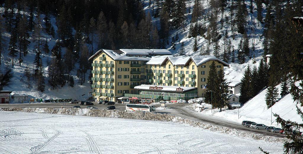 Il Grand Hotel Misurina 4* vi attende