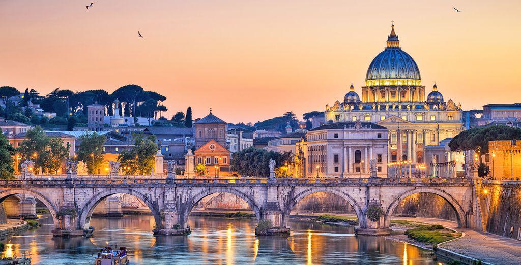 Partite alla scoperta di Roma e delle sue meraviglie