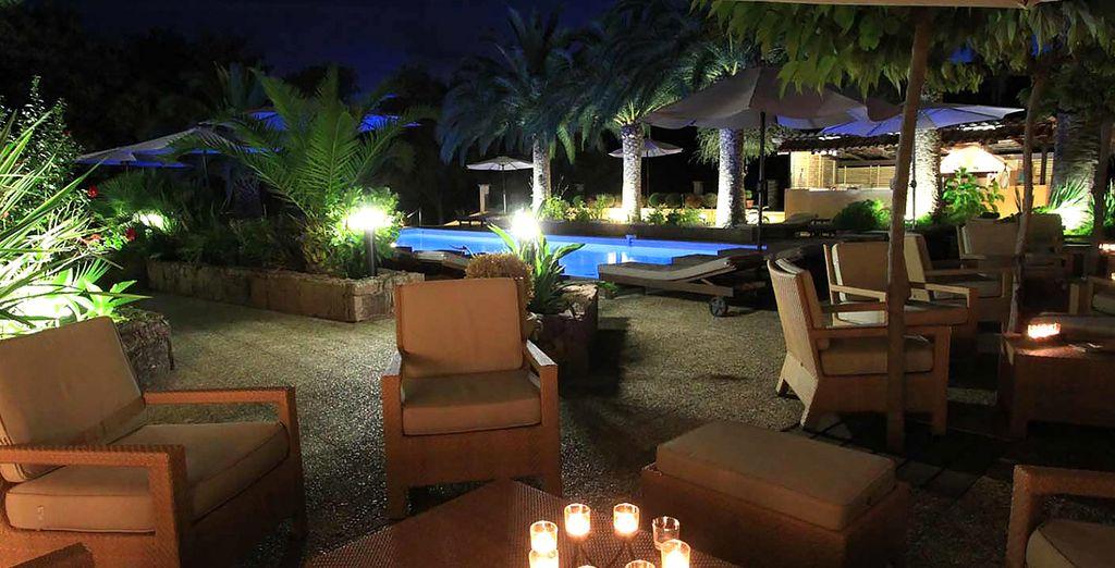 che potrete sorseggiare la sera, vicino la piscina