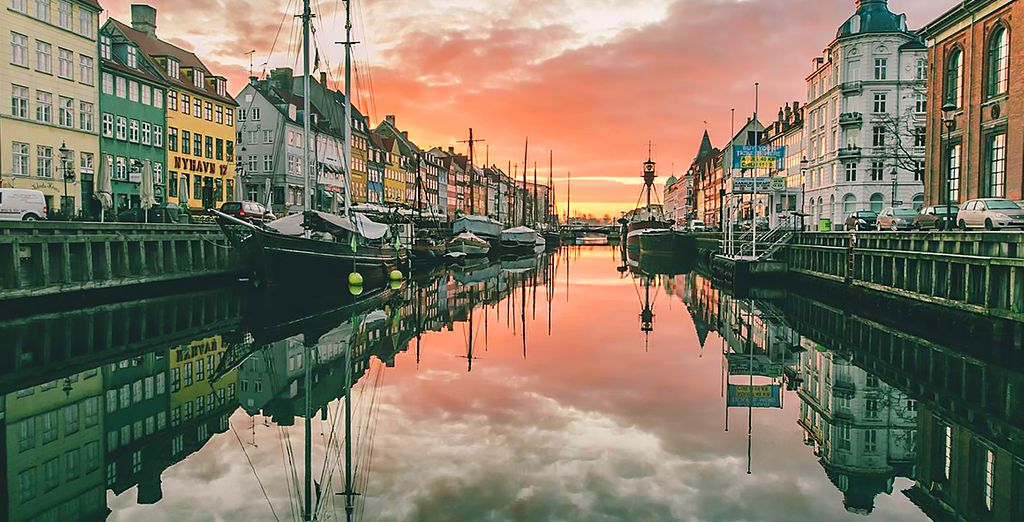 Raggiungerete la splendida capitale danese
