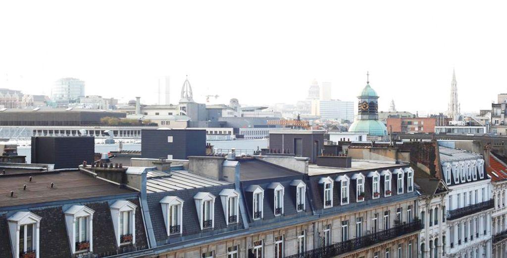 L'hotel si affaccia su Bruxelles