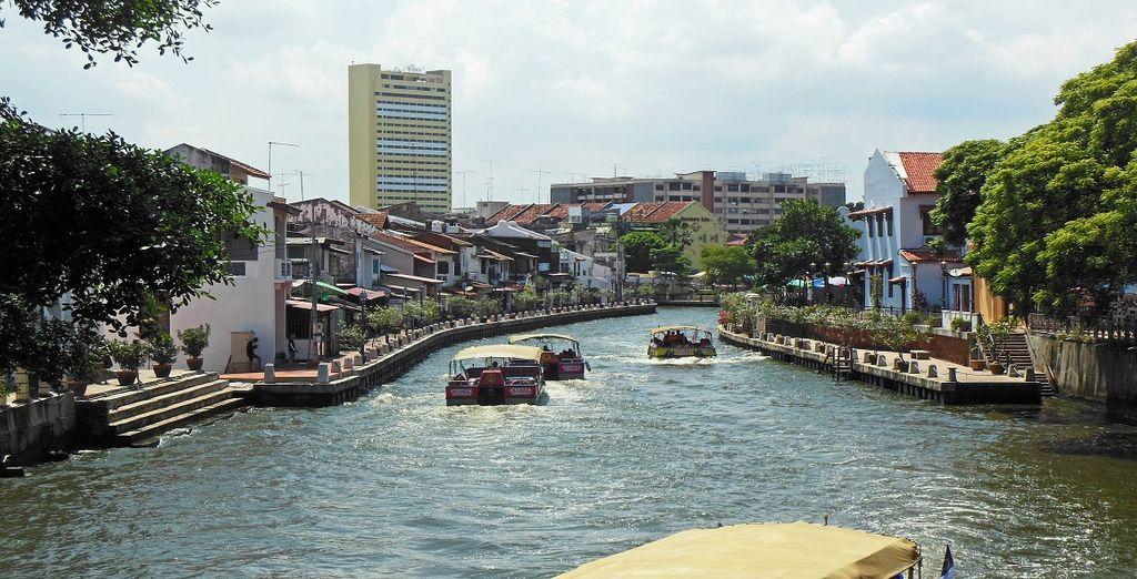 Malacca, città storica ricca di templi, mercati e moschee