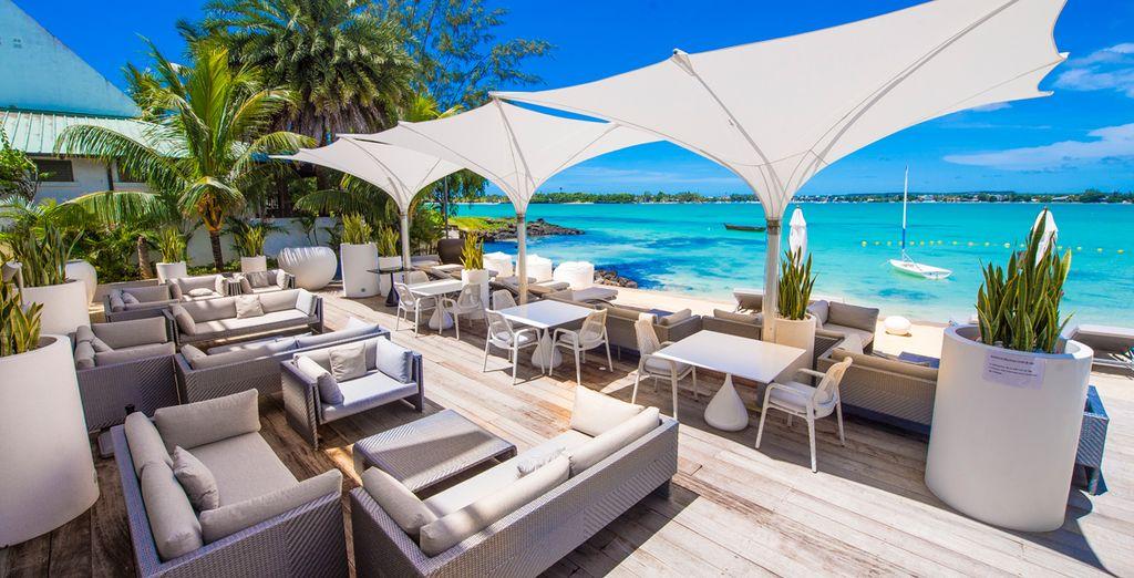 Un esclusivo boutique hotel con una vista spettacolare sull'Oceano Indiano