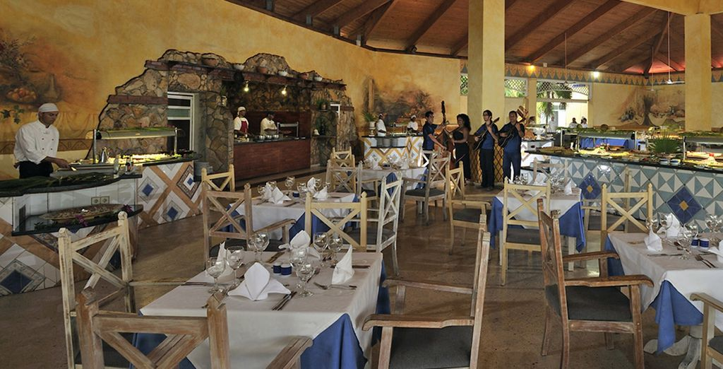 Il ristorante dove potrete gustare prelibati piatti