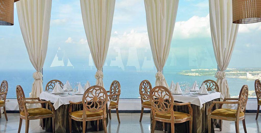 Il ristorante con vista panoramica