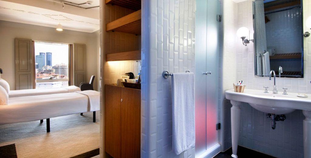 Una camera standard dotata di ogni comfort