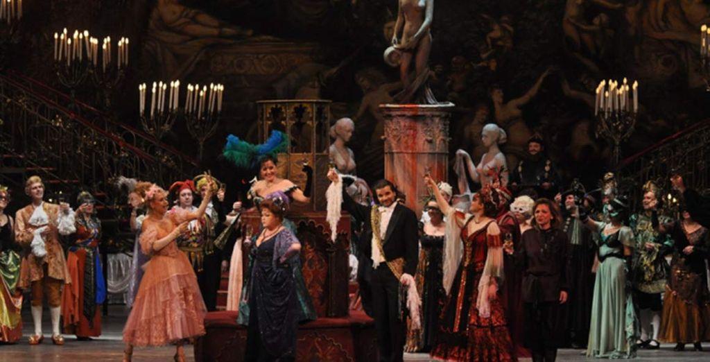 """Potrete ammirare l'Operetta """"Die Fledermaus""""..."""