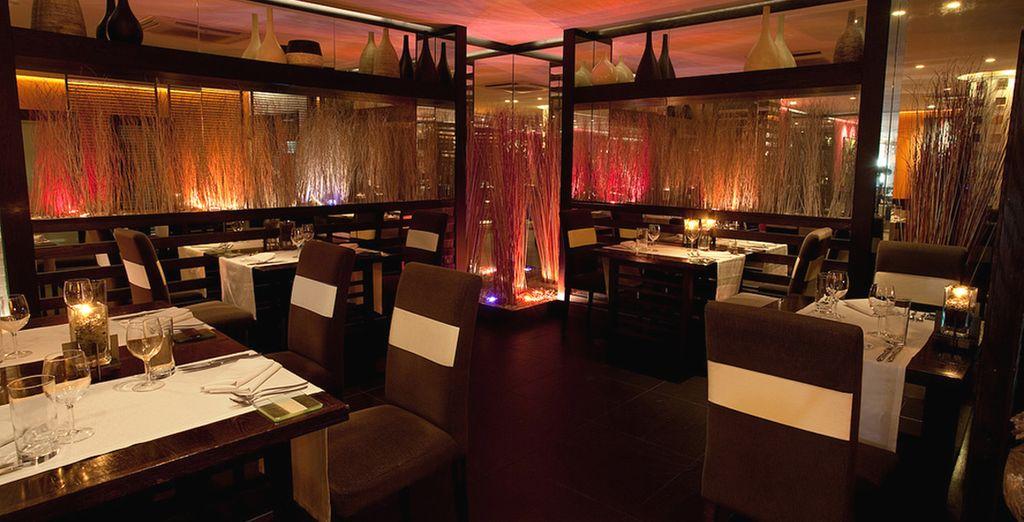 Lo Zest propone sushi, cucina orientale e tante altre specialità gourmet