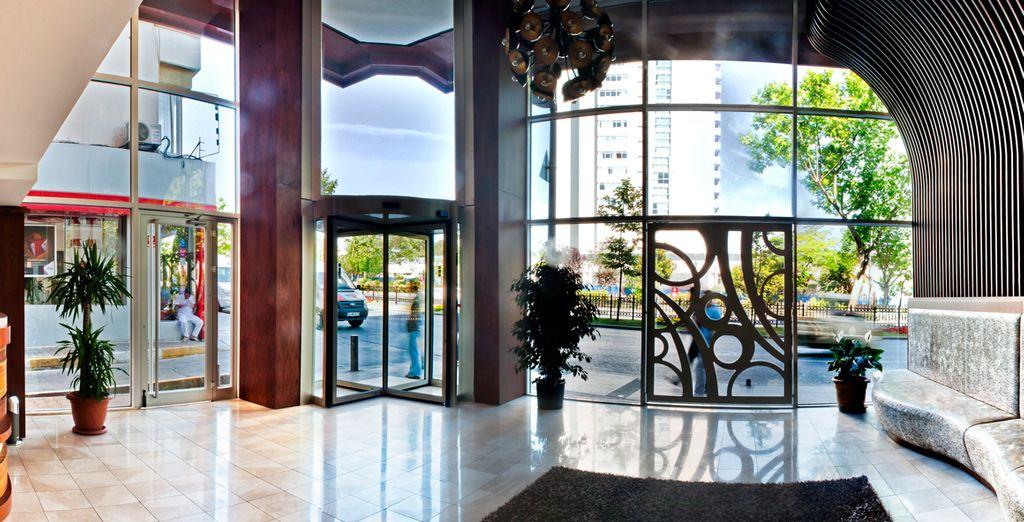 Benvenuti all'hotel Tryp