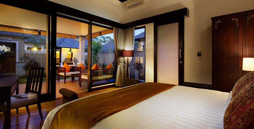 Soggiornerete nella vostra One Bedroom Pool Villa