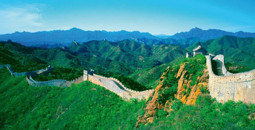 Camminate sull'antichissima Grande Muraglia