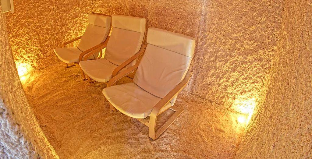 Dove potrete rilassarvi e farvi coccolare con massaggi e trattamenti esclusivi