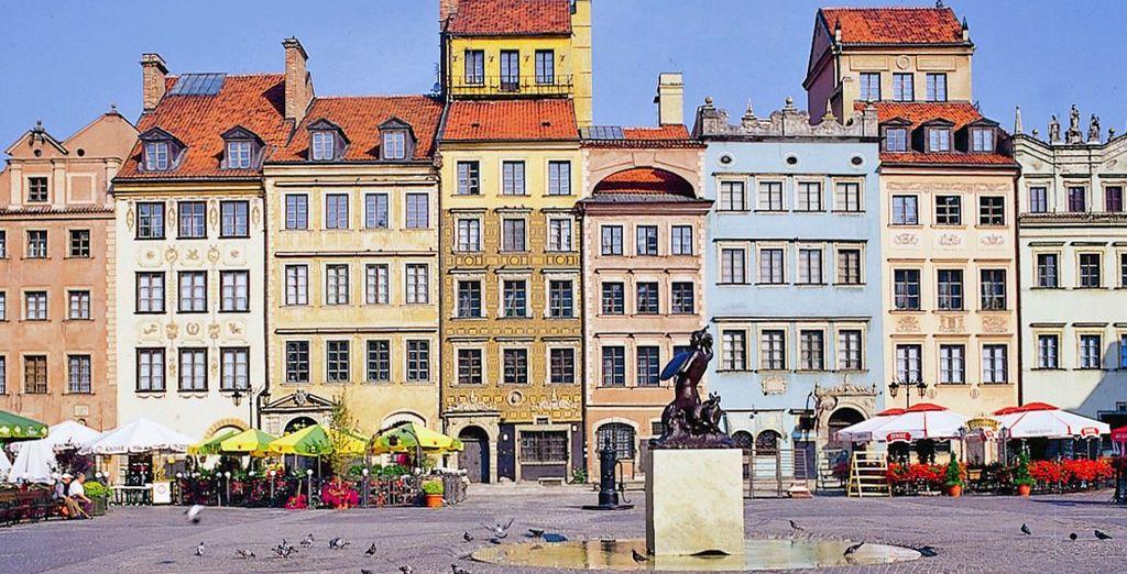 Benvenuti a Varsavia