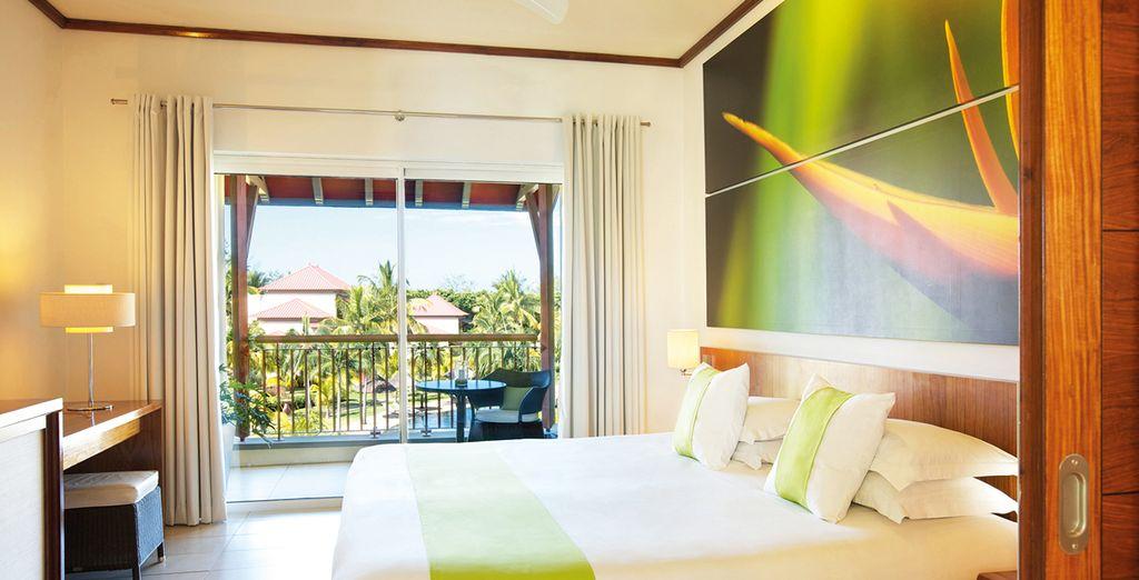 La vostra camera, spaziosa e confortevole