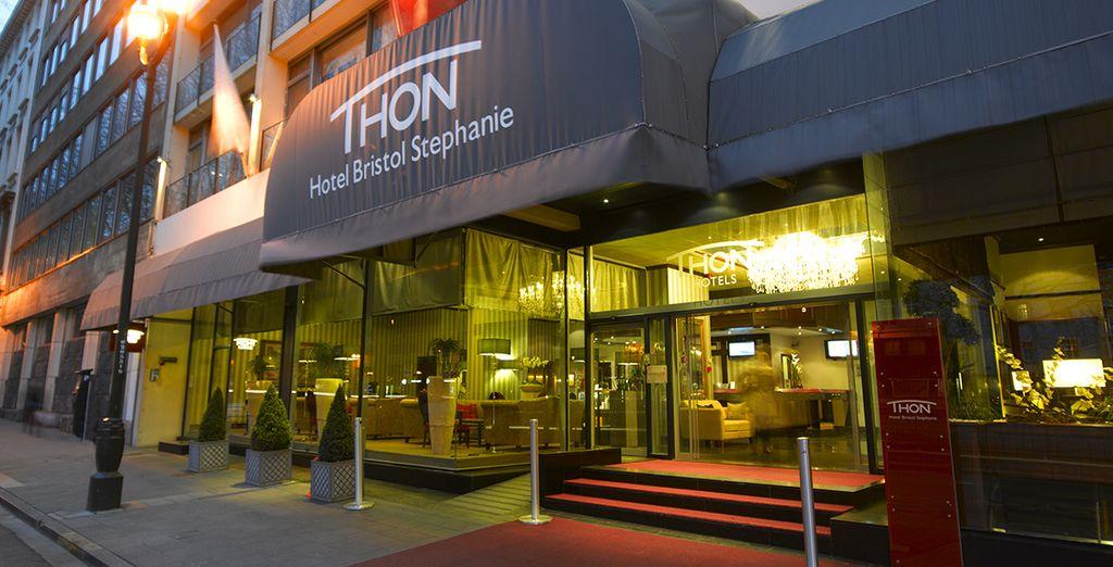 Il Thon Hotel Bristol Stephanie vi attende nel cuore della città
