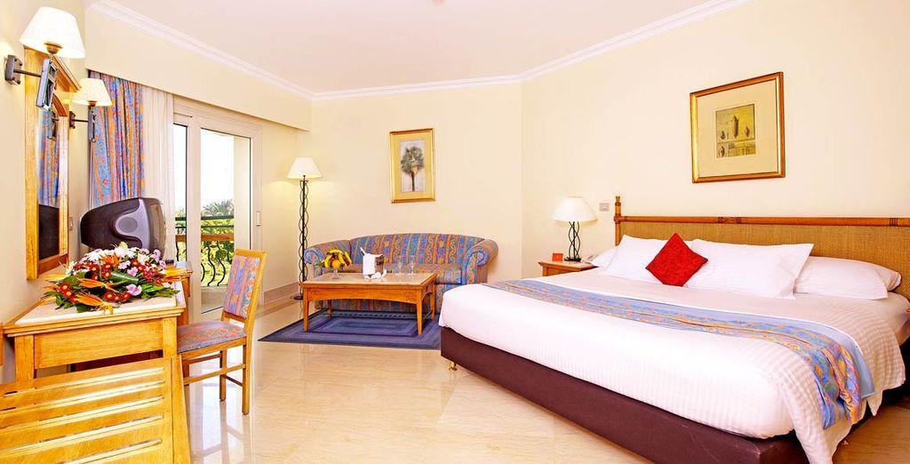 Godetevi il comfort delle vostre camere