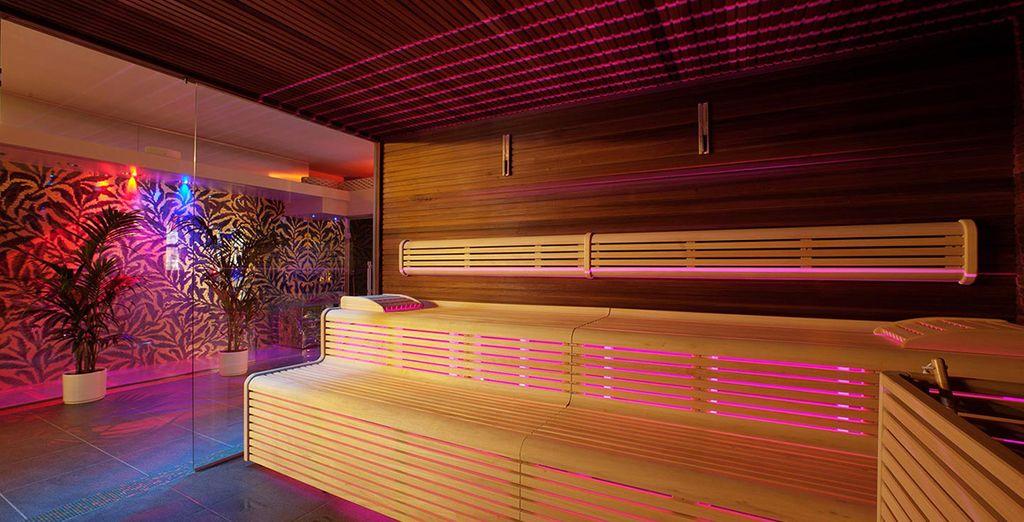 O rilassatevi nella sauna e nel bagno turco