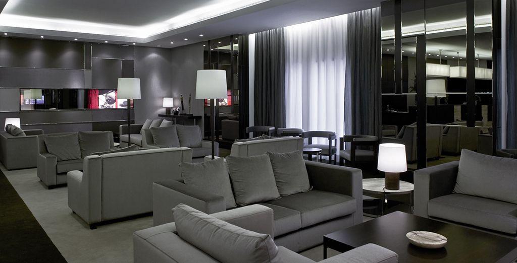 albergo dal design moderno ed elegante