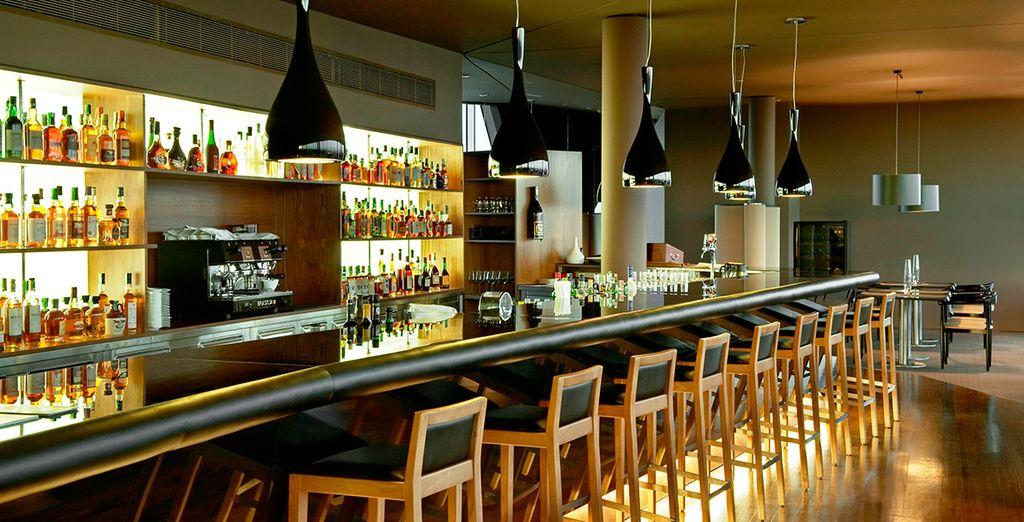 potrete gustare un cocktail o un soft drink al bar