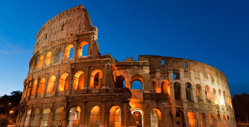 ...e da alcune delle più belle attrazioni turistiche italiane
