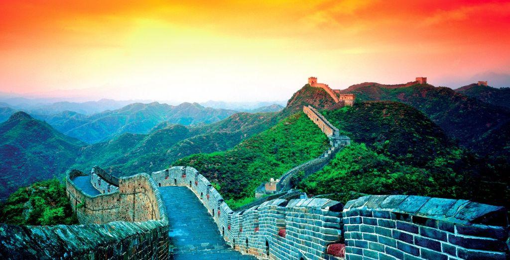 Ammirate l'imponenza della Grande Muraglia Cinese