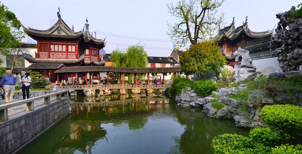 dedicherete una giornata di visita alla città con il Giardino del Mandarino Yu