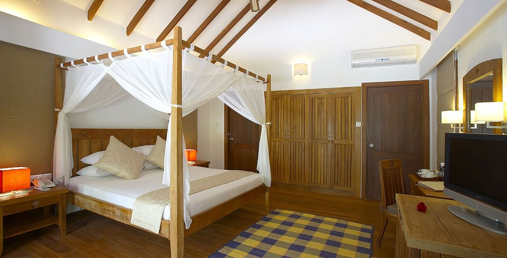 La vostra confortevole e spaziosa Beach Villa...