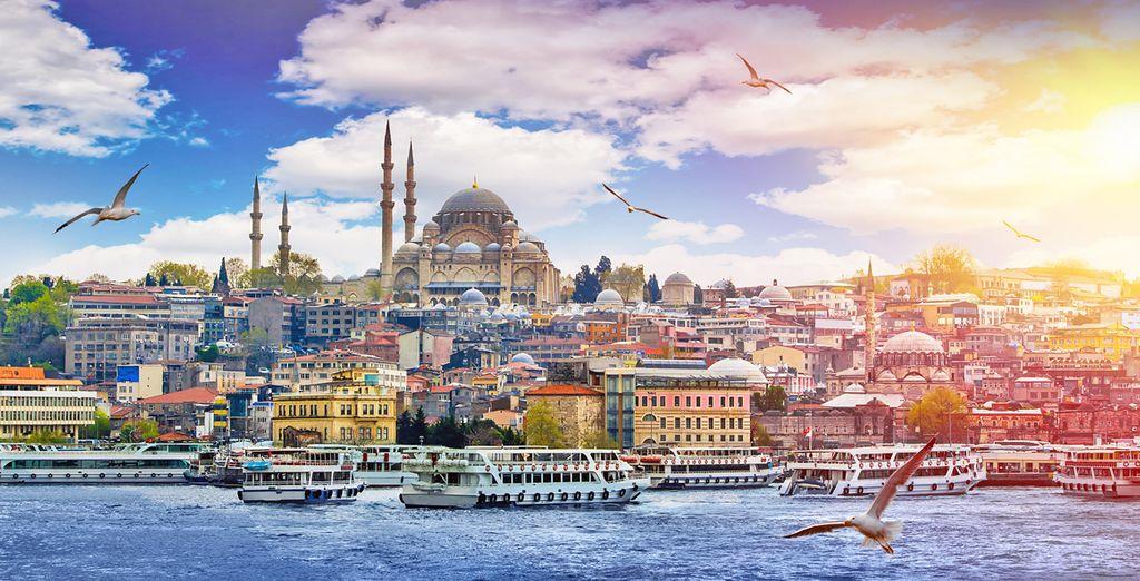 Istanbul, tra Oriente ed Occidente