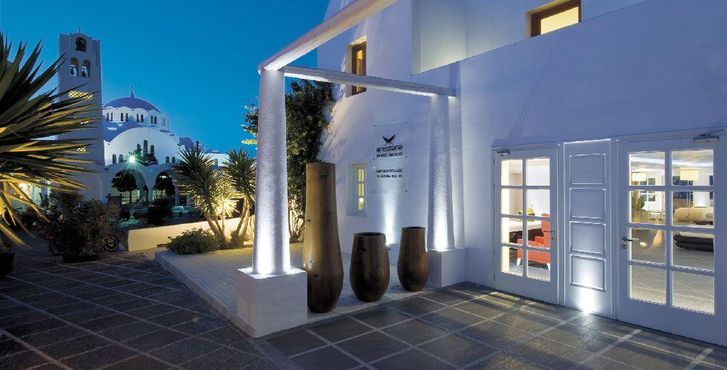 Vi accoglie l'Aressana Spa Hotel & Suites