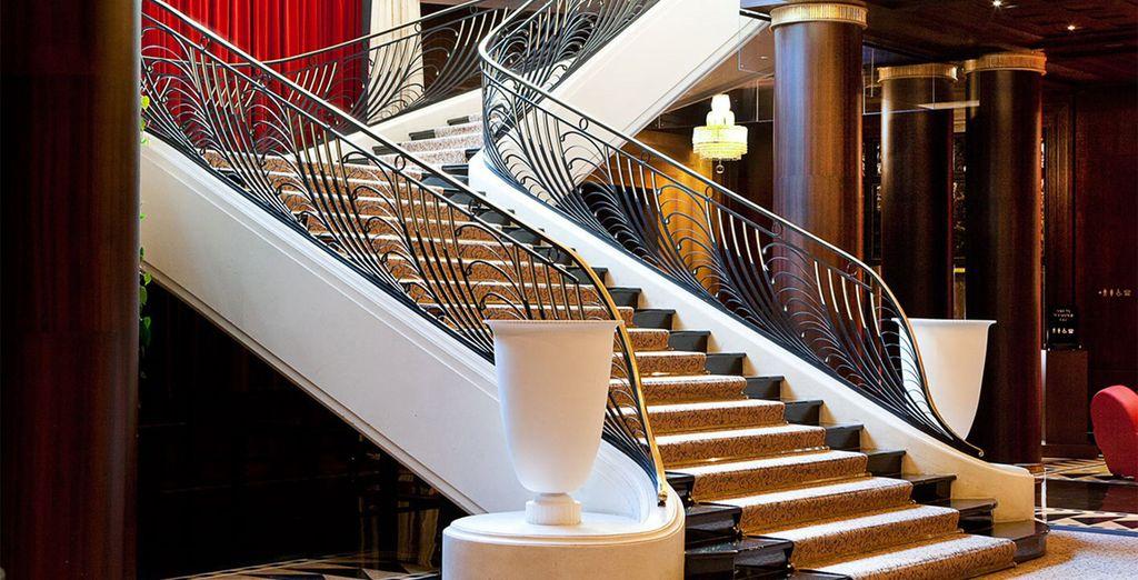 Un elegante hotel pensato dai progettisti più importanti del 1930