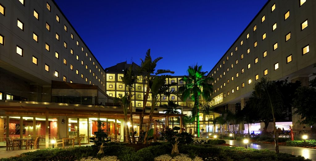 Godetevi il vostro soggiorno all'hotel Mirada!