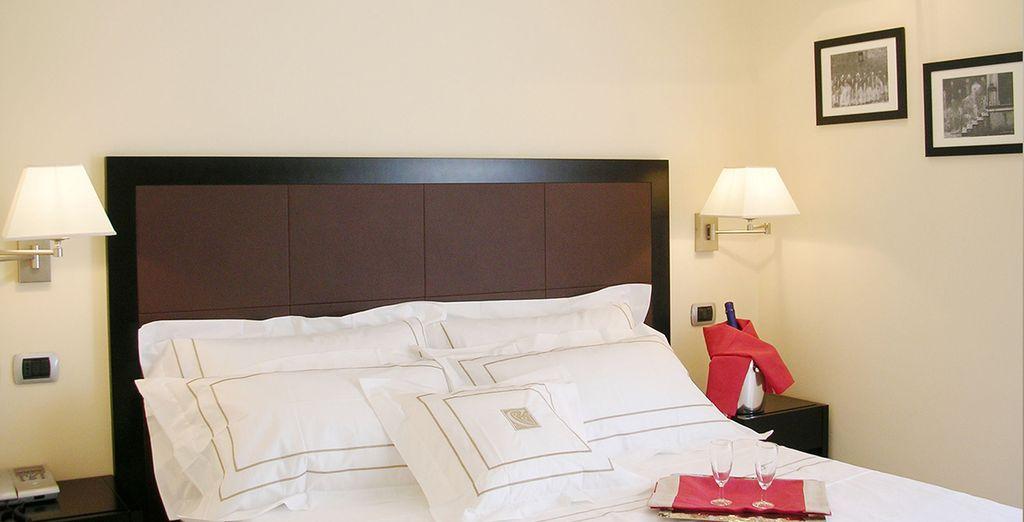 Rilassatevi nelle confortevoli camere